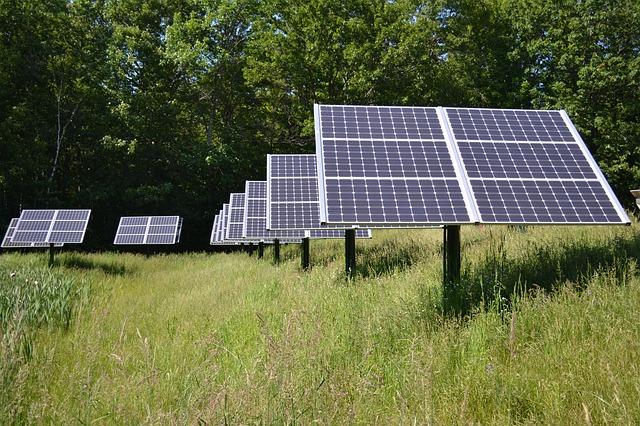 baterie słoneczne