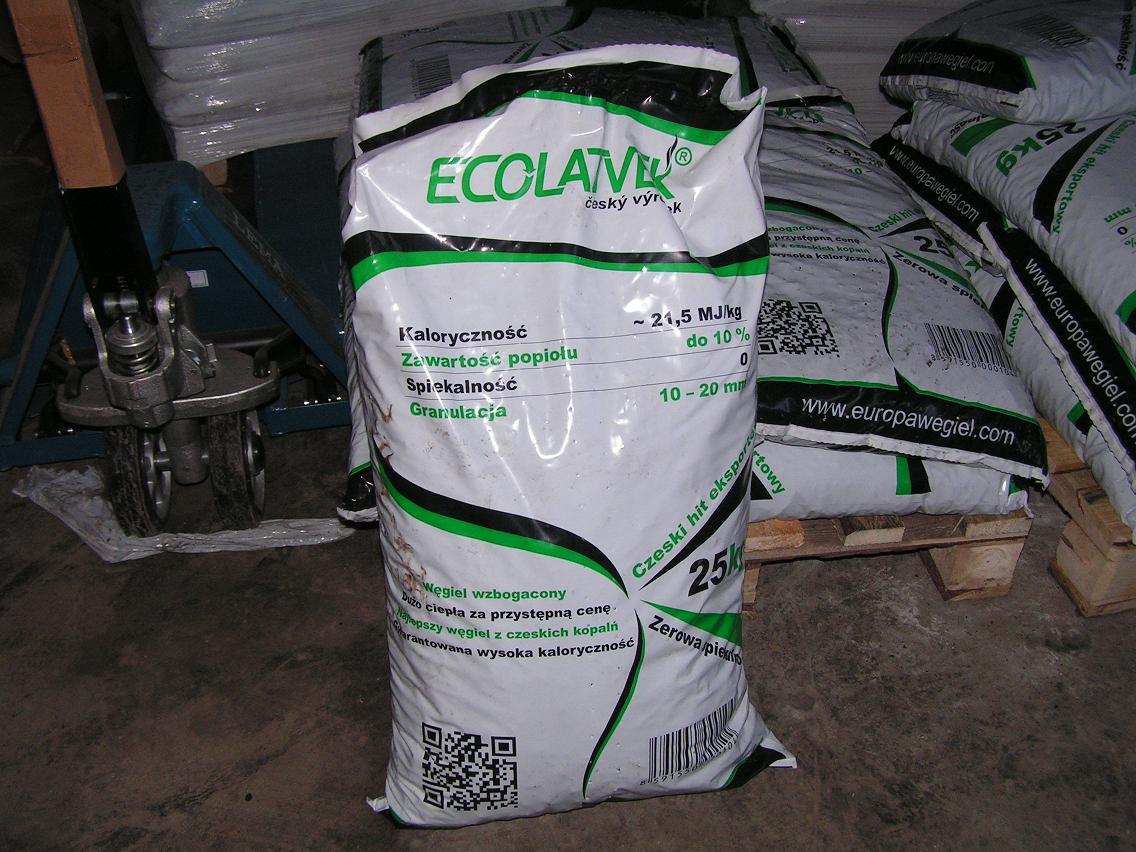 ekogroszek pakowany
